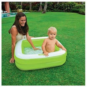 AV INT Inflatable Play Box Pool and Pump