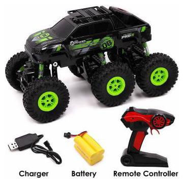 Buy Av Int M Alive 6x6 Wheel Rock Crawler Remote Control Car Monster Truck Rechargeable Multicolor Online At Low Prices In India Paytmmall Com