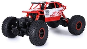 AV INT Rock Crawler (1:18 Scale) Remote Control Monster Car, Four Wheel Drive, Rechargeable