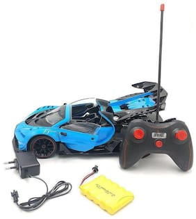 AV INTRechargeable 1:12 Scale Modified Bugatti Style Rc Car with Fully Function Doors and Dicky (Bugatti Style)