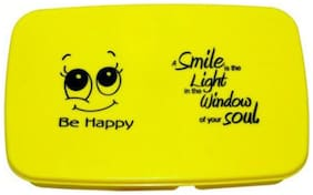 Avani Industries Smiley 2 Containers Lunch Box
