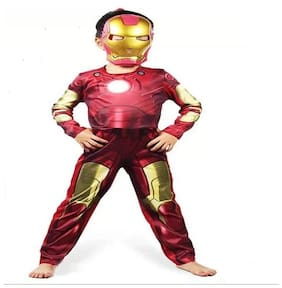 Avenger Iron Man Costume with Mask For Kids