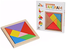 Awals Tangram Wooden Puzzle Educational Toy For Kids