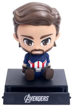 Awestuffs Captain  Limited Edition Phone Holder Action Figure