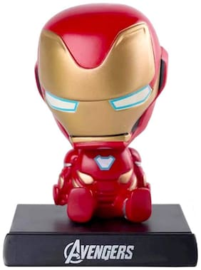 Awestuffs Iron Red Limited Edition Phone Holder Action Figure