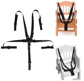 Baby 5 Point Safety Chair Harness Belt Strap for High Chair Feeding Car Seat US