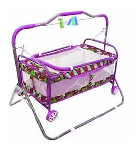 Baby Assorted best on super quality cradles and bassinet (JHULLA and PALNA);crib cum stroller;with mosquito net with running baggi 4 wheels for your kids