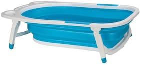 BABY BATH TUB FOLDABLE, PORTABLE - BLUE