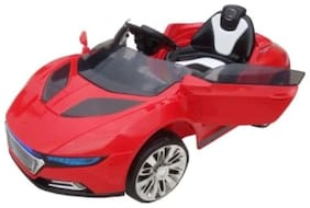 Baby Battery Operated Audi Car Red Color With Remote Control And Mobile Music Connectivity For Your Kids SE-BOC-08