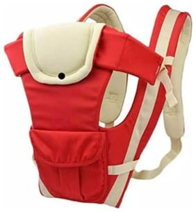 Baby Carry Bag with black checks Inner_Red 794