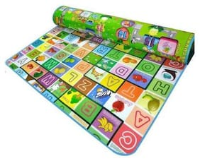 Baby Corn 100% Waterproof, Anti Skid, Double Sided Baby Play & Crawl Mat (6'X5' Feet)||A-01