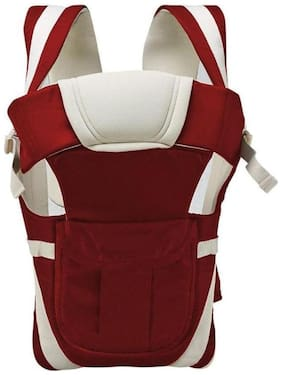 BABY CORN 4-IN-1 POLYCOTTON ADJUSTABLE BABY CARRIER SLING BACKPACK (0-30 MONTHS)