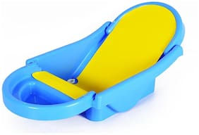 BABY CORN Foldable Bath Tub baby bather for Babies (0-12 Months)