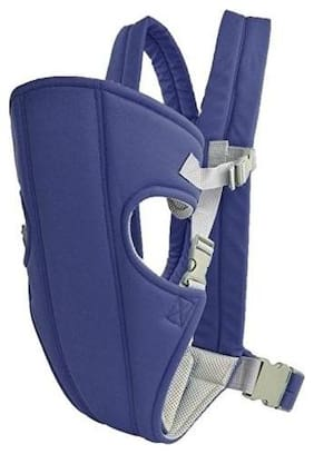 Baby Corn Mini Carrier Bag;POLYCOTTON Adjustable Hands-Free Baby Carrier (0-30 Months) - Blue