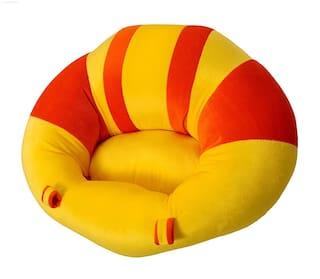 BABY CORN Premium Quality Soft Plush Chair/seat for Baby Safety Sitting/Soft Soft Plush Chair for Kids Birthday Large Size