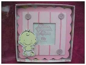 Baby Girl Party Shower Picture Frame Gifts Favors NIB