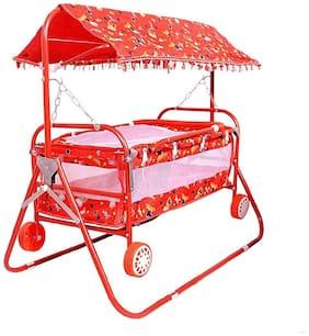FUN RUN Red Bassinets & Cradles for Kids