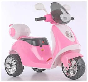 Baby Love Scooter Battery Operated Ride On Bike With Music And Light For Your Kids