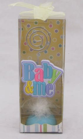 Baby Photo Clip Holder Shower Girl Boy Gift Nursery Picture Assorted Styles NEW
