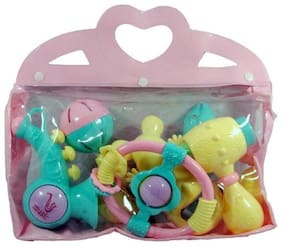 Baby Rattles In A Bag (6 pcs) Rattle