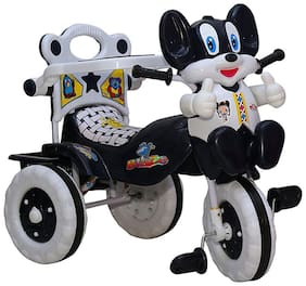 Baby Tricycle Black 86*64*33 cms 1-3 yrs