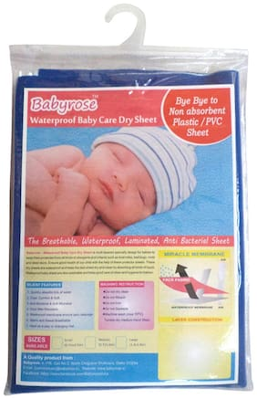Waterproof Baby Dry Sleeping Mat-(Dark Blue Small)