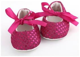 AkinosKIDS Pink Ballerinas For Infants
