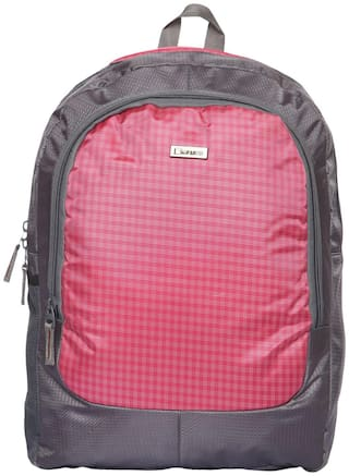 Backpack Check Pink