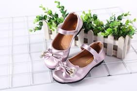 Enso Purple Ballerinas For Girls