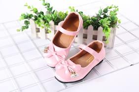Enso Pink Ballerinas For Girls