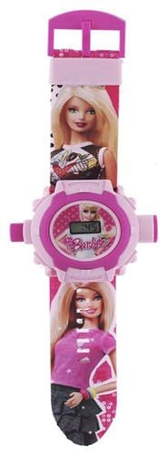 Barbie 24 Image Kids Projector Watch Pack Of - 1 By Signomark.