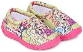 Barbie Yellow Girls Casual Shoes