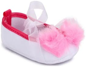 Barbie White Booties For Infants
