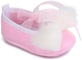 Barbie Pink Booties For Infants