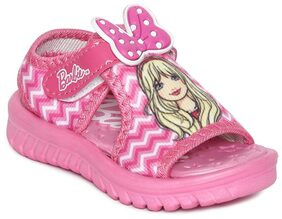 Barbie Pink Sandals For Girls