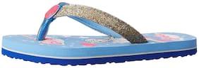 Barbie Blue Girls Slippers