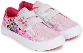 Barbie Pink Casual Shoes For Girls