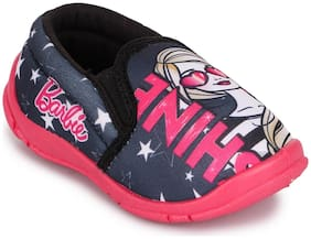 Barbie Black Casual Shoes For Girls