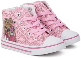 Barbie Pink Girls Casual Shoes