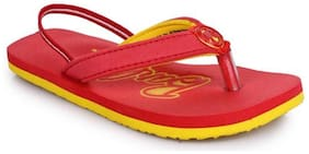 Barbie Red Girls Slippers