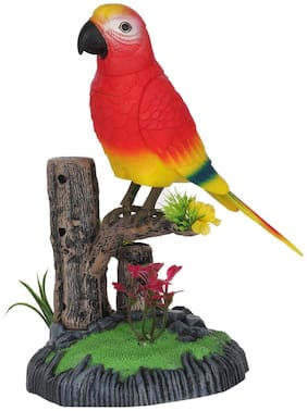 Barodian's Cute Singing/Dancing Parrot heartful Bird Toy