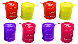 Barrel O Slime Different Colours, Plastic Container, Non Toxic, Easy Flow, Multicolor for Kids Boys Girls  (set of 8 pcs )