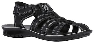 Bata Black Boys Sandals