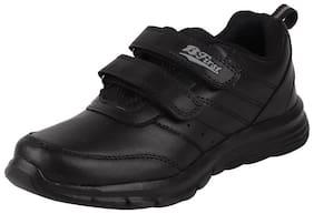 Bata Black Unisex Kids School Shoes