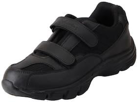 Bata Black Boys School Shoes