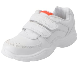 698318b6f4ac Buy Bata White School Shoes for boys Online at Low Prices in India ...