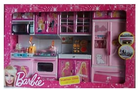 BATTERY OPERATED BARBIE MODULAR KITCHEN SET BY AMAYRA
