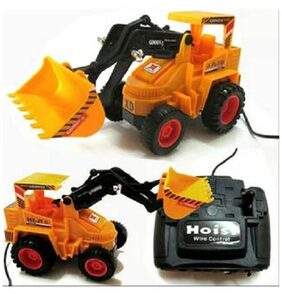 Battery operated kids Jcb toy