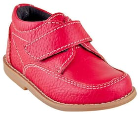 Beanz Red Boys Casual shoes