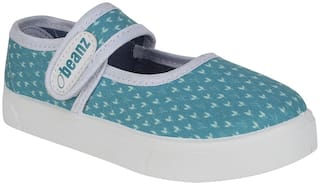 Beanz Blue Casual Shoes For Girls